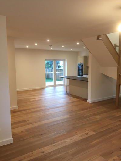 Brushed & oiled engineered oak flooring